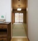 AFTER: 三部屋続きで雑然としていた南側の和室は、独立した落ち着きの客間に。
