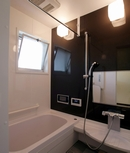 AFTER:浴室には、ご主人の希望で浴室テレビを設置