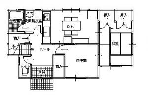 施工前 独立したダイニングキッチンは狭く、収納スペースもあまりありません