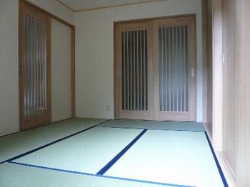 施工後の和室